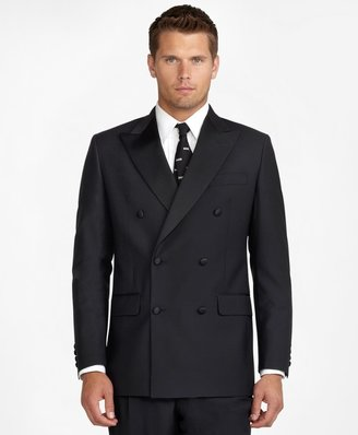 Brooks Brothers Double-Breasted Tuxedo Jacket