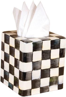 Mackenzie Childs MacKenzie-Childs Courtly Check Tissue Box Cover