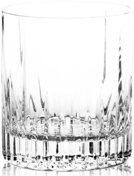 "Mikasa Arctic Lights"" Crystal Double Old-Fashioned Glass"
