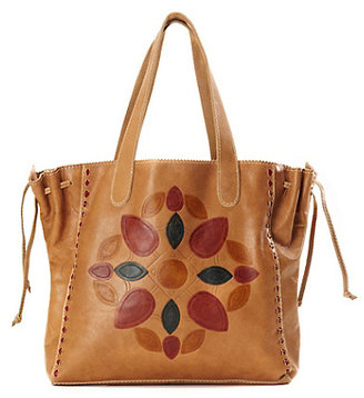 Lucky Brand Del Mar Embossed Tote