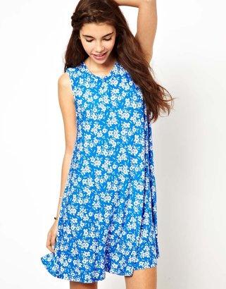 Glamorous Swing Dress In Floral Print
