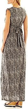 JCPenney Maternity Print Maxi Dress