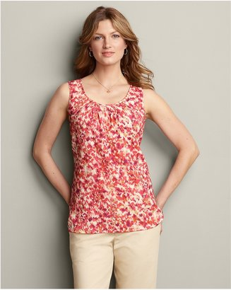 Eddie Bauer Smocked Tank Top
