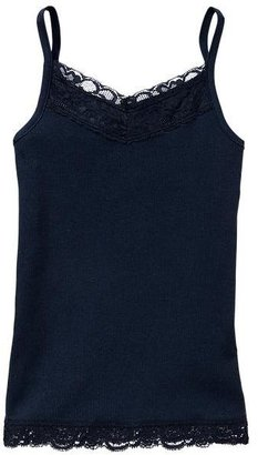 Gap Lace-trim ribbed tank