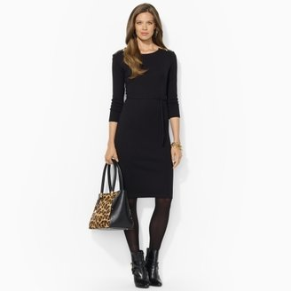 Ralph Lauren Three-Quarter-Sleeved Dress