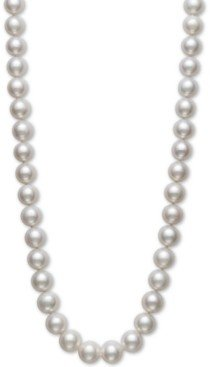 "Belle de Mer Cultured Freshwater Pearl Strand 18"" Necklace (10-1/2-11-1/2mm) in 14k Gold"