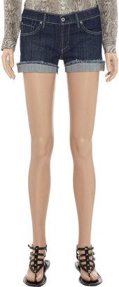 James Jeans Shorty stretch-denim shorts