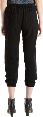 Helmut Lang Relaxed Cropped Trousers