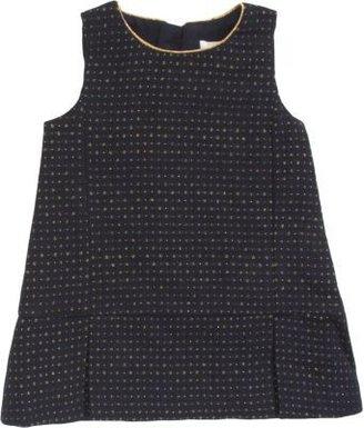 Chloé Lurex Drop Waist Dress