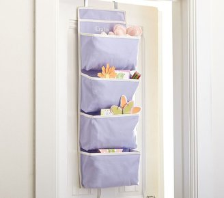 Pottery Barn Kids Lavender Harper Over-Door Storage