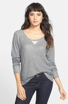 Feel The Piece 'Two Timer' Raglan Sleeve Top