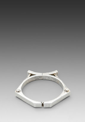 Low Luv x Erin Wasson Atlantis Architectural Magnetic Bangle