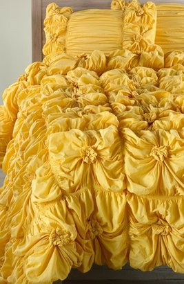 Nordstrom Rizzy Home Ruched Knots Comforter Exclusive)