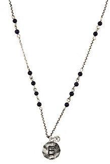 "Nine West Vintage America Collection® 16"" Adjustable ""E"" Initial Pendant Necklace"