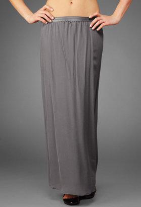 AG Jeans The Maxi Skirt - Dark Grey