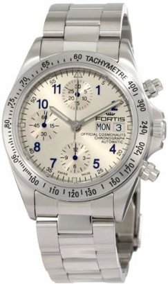 Fortis Men's 630.10.92 M Cosmonauts Chronograph Stainless Steel Watch