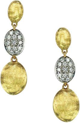 Marco Bicego Siviglia Diamond Triple-Drop Earrings