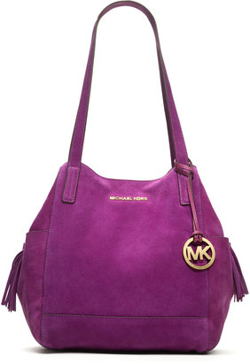 MICHAEL Michael Kors Large Ashbury Suede Grab Bag