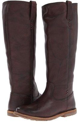 Frye Celia X Stitch (Brown) - Footwear