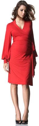 Isabella Oliver Maternity Bianca Wrap Dress