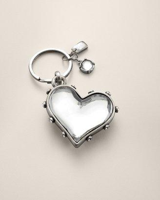 Chico's Crystal Heart Key Chain