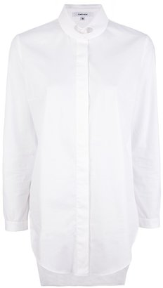 Carven slit collar shirt