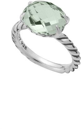 David Yurman Color Classics Ring, Prasiolite, 12x10mm