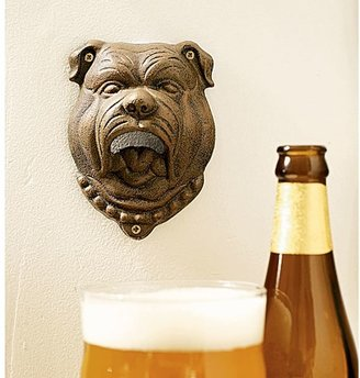 Pottery Barn Bulldog Wall-Mount Bottle Opener
