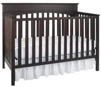 Graco by LaJobi Lauren Convertible Crib - Espresso