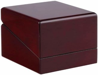 Diplomat 32-16014 Cherry Wood Leather Box Watch Case