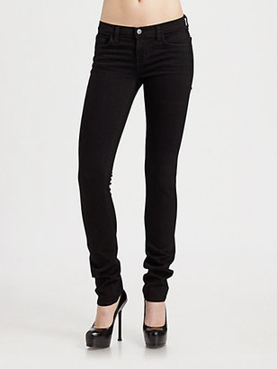 J Brand Low Rise Skinny Jeans