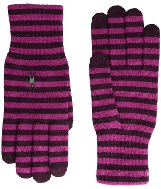Smartwool Striped Liner Glove $27 thestylecure.com