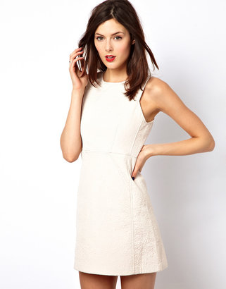 French Connection Seamed Mini Dress