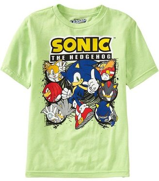 Old Navy Boys Sonic the Hedgehog™ Tees