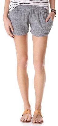 Monrow Granite Novelty Pocket Shorts