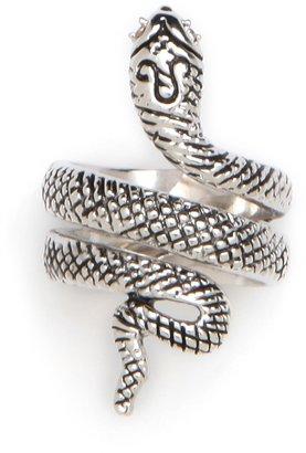 BaubleBar Silver Snake Ring