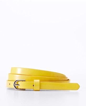 Ann Taylor Perfect Patent Skinny Belt