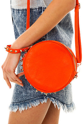 *MKL Accessories The Forever Endangered Spiked Crossbody Clutch