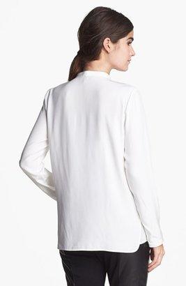 Lafayette 148 New York 'Merrill' Silk Blouse