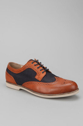 Urban Outfitters Hawkings McGill Mixed Wingtip Derby