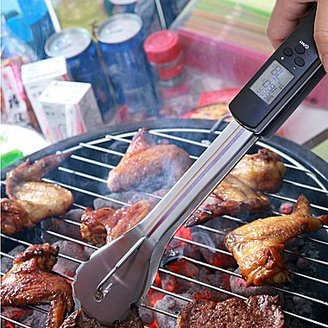 JCPenney Man Law® Digital Grilling Tongs