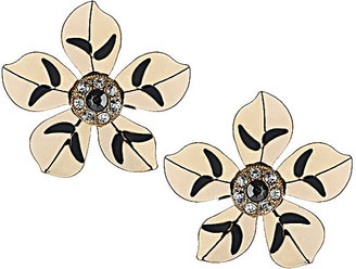 Topshop Gold Flower Studs