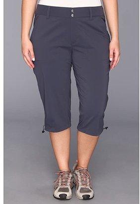 Columbia Plus Size Saturday Trailtm II Knee Pant (British Tan) Women's Capri