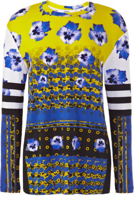 Prabal Gurung Preorder Long Sleeve Floral Multi T-Shirt
