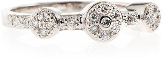 Charriol Three-Station Diamond Ring, Size 6.5