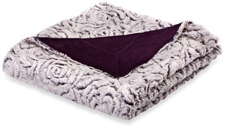 Bed Bath & Beyond Azalea Faux-Fur Oversized Reversible Throw