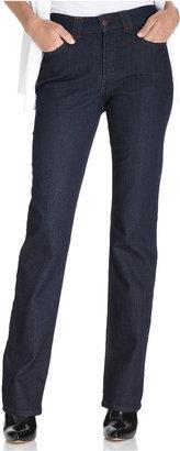 NYDJ Petite Hayden Straight-Leg Jeans, Denim Wash