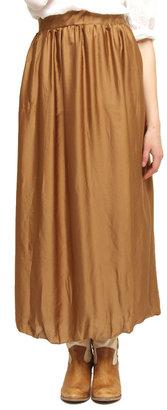 Baci Crinkle Maxi Skirt
