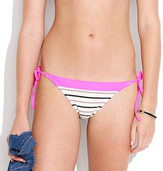 Madewell Telegraph-stripe bikini bottom
