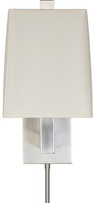 Crate & Barrel Duncan Antiqued Silver Wall Sconce